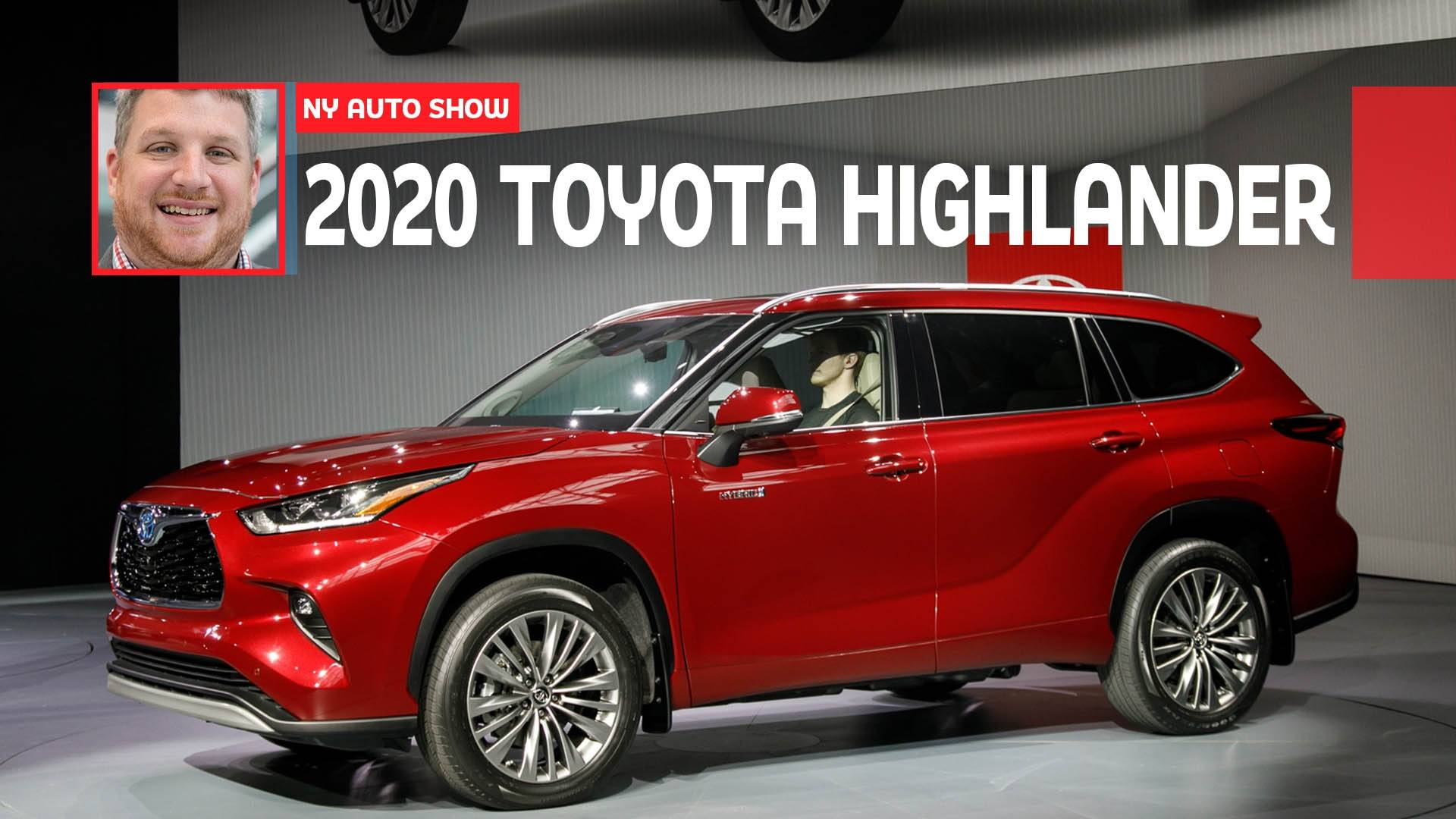 Best Photos Of 2020.Video 2020 Toyota Highlander Is The Brand S Best Looking Yet