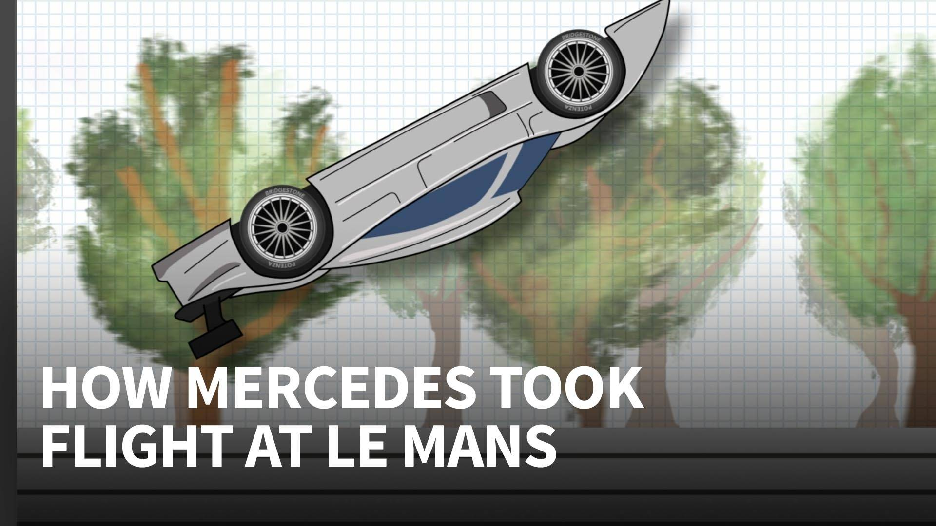 Why The Mercedes Clrs Kept Taking Off At Le Mans 1999