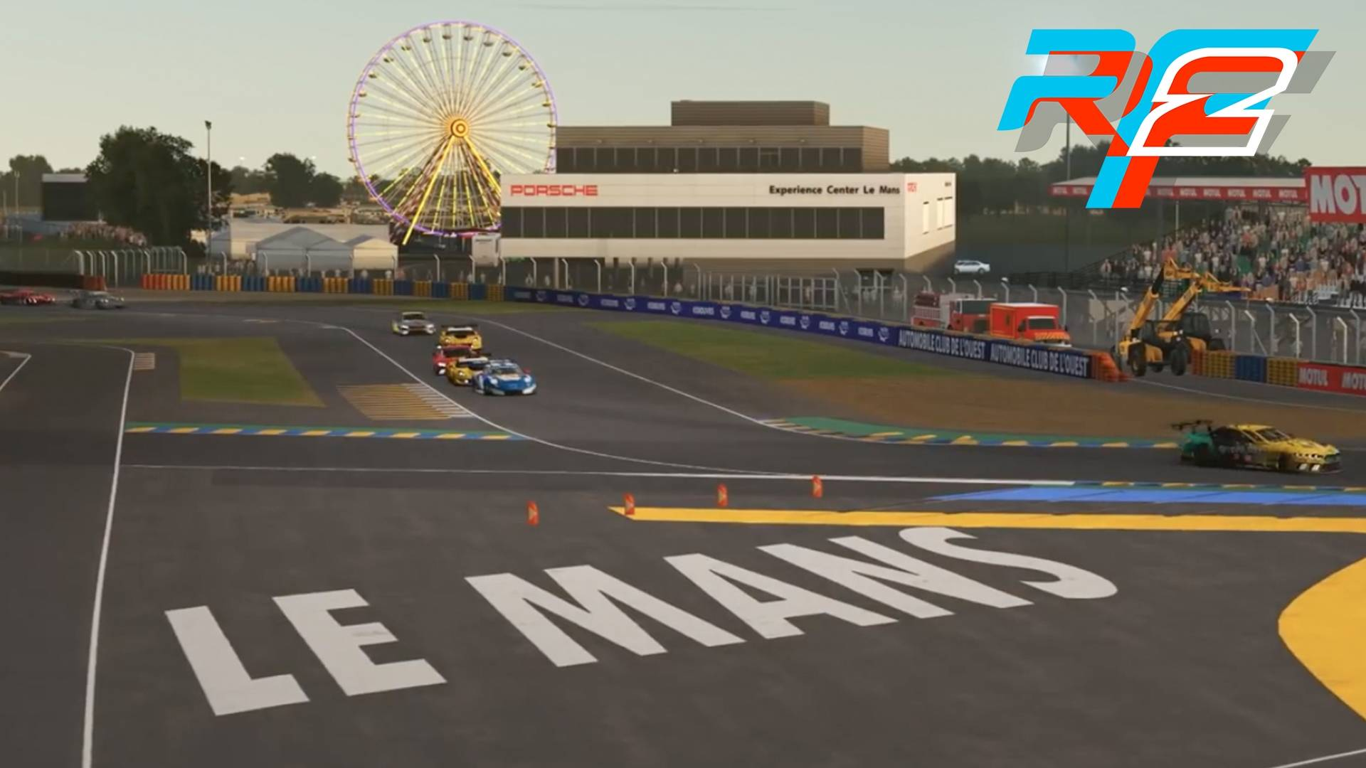 The rFactor 24 at Le Mans