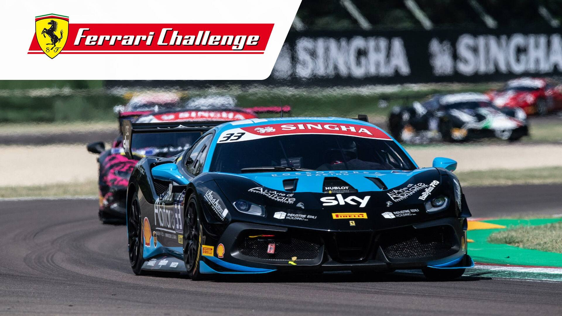 Ferrari Challenge Europe Spa Francorchamps Coppa Shell Race 1 Ferrari Challenge Europe Motorsport Tv
