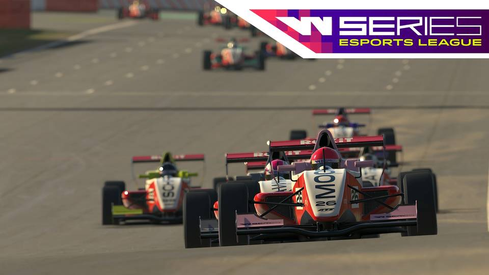 W Series Esports League: Round 5 - Spa-Francorchamps Highlights