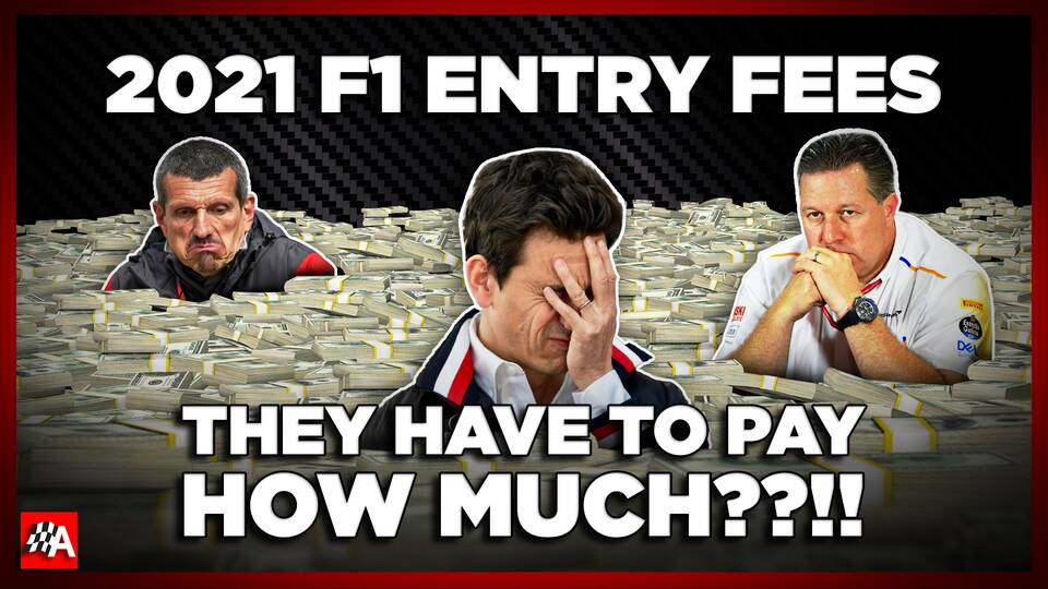 2021 F1 Entry Fees Explained - How Much Every Team Has to Pay